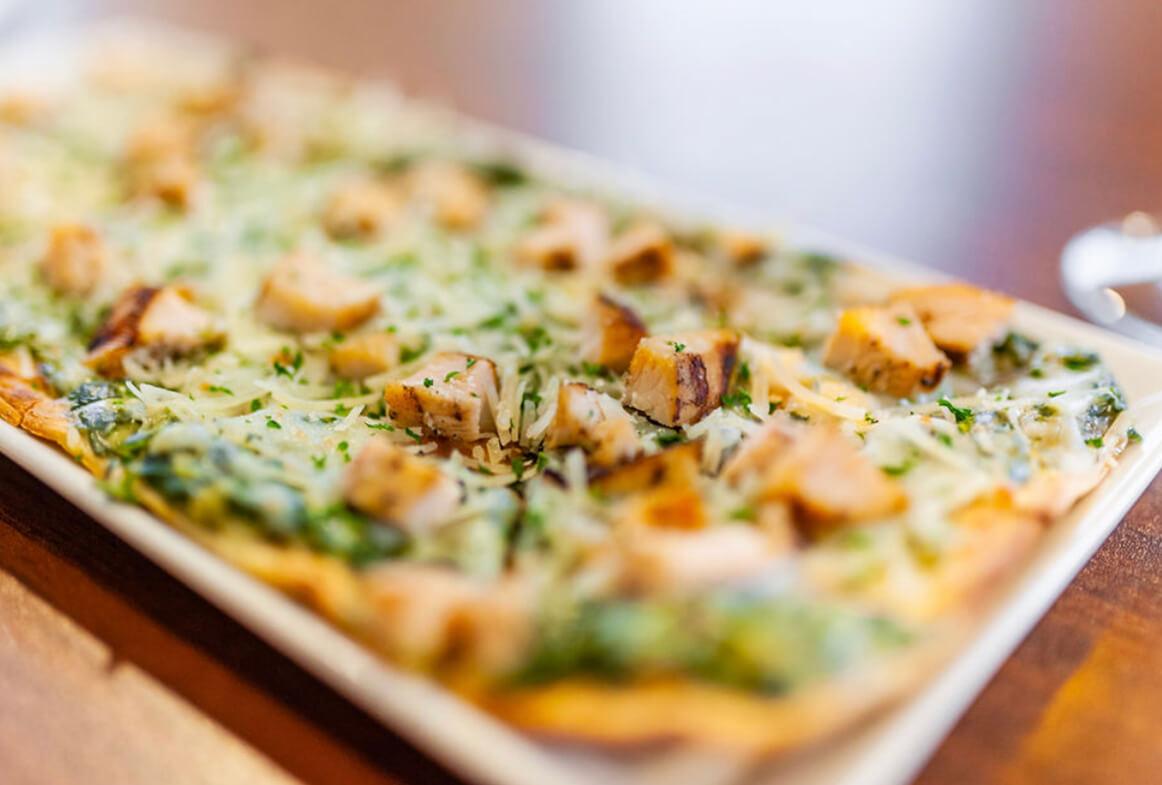 Chicken & Spinach Flatbread